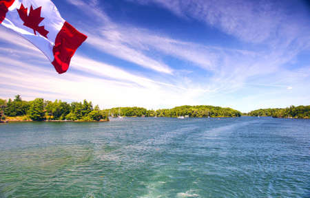 kingston: Lake Ontario Saint Lawrence river and Thousand Islands National Park Canada
