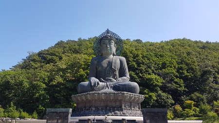 Best View in Seoul Korea July 2019 Reklamní fotografie