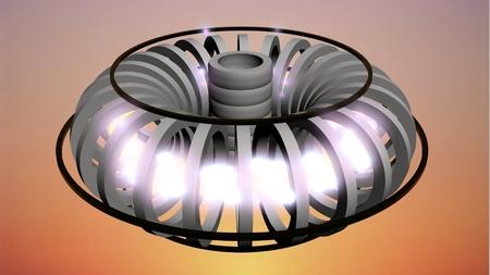 Fusion Reactor Archivio Fotografico