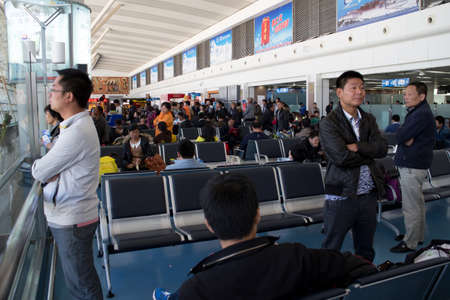 the inside view of Lhasa Gongga International Airport