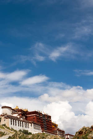 the view of Potala palace photo
