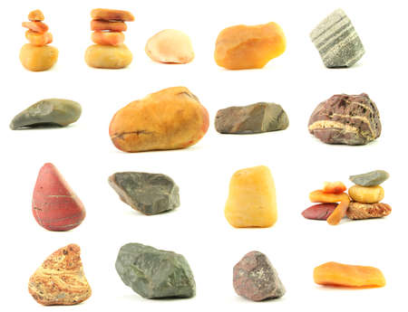 beautiful stones from the desert of Sinkiang,  China photo