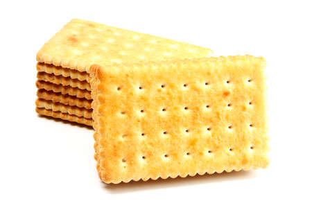 cooky: delicious biscuit isolated on the white
