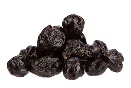 close up of dried jujube isolated on the white background 版權商用圖片