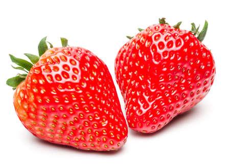 strawberries: Fresh Strawberry Isolated on White Background