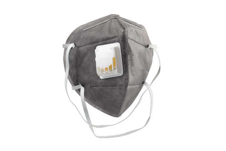 Anti virus mask with breathing valve. Banque d'images - 140325242
