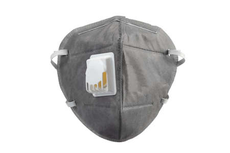 Anti virus mask with breathing valve. Banque d'images - 140325245