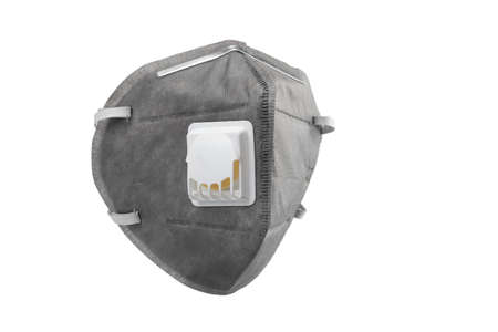 Anti virus mask with breathing valve. Banque d'images - 140325247