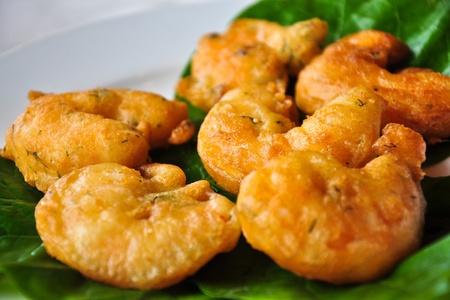 balls deep: Deep fried prawn balls