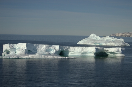 ices: Nature of Antarctic  Ices and icebergs
