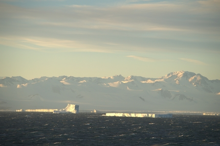 Nature of Antarctic  Ices and icebergs photo