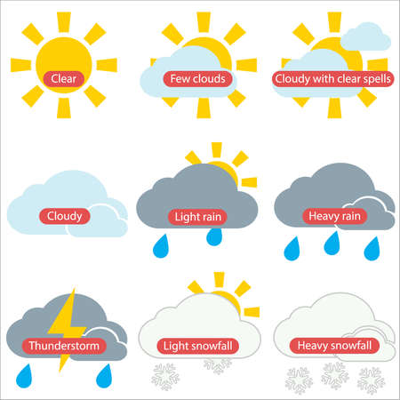 cloud icon: Weather forecast