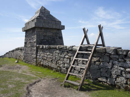 mourne: this hut is close to the summit of slieve commedagh north irelands second highest mountain