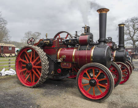 steam traction engines Stock Photo - 20939697