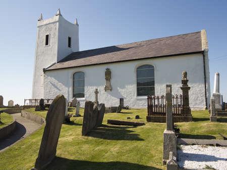 coastal church in ireland