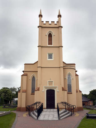 an old church in northern ireland  Stock Photo
