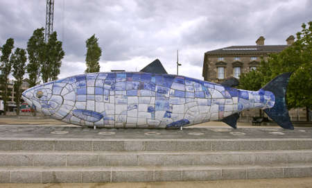 the big fish, well known belfast landmark