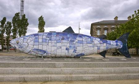 the big fish, well known belfast landmark