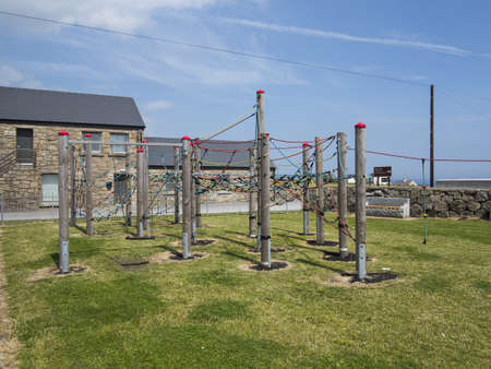 a small coastal play park in ireland Stock Photo - 21538328