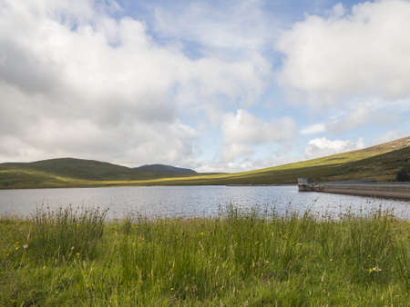 large reservoir in north ireland which carrries water to the towns of portadown and banbridge Stock Photo - 22088661