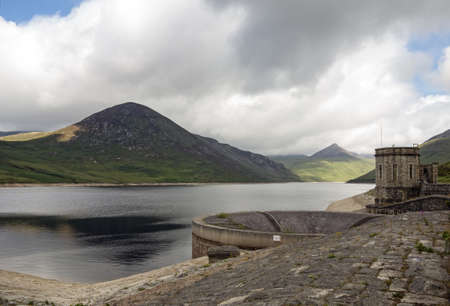 mourne:  silent valley reservoir north ireland provides drinking water to belfast