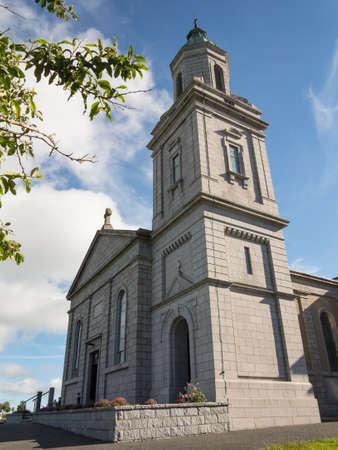 tall church tower on a modern Irish church Stock Photo - 22257907