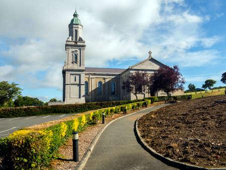 a modern day church in Northern Ireland