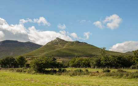 Hen mountain in the Mournes of North Ireland Stock Photo