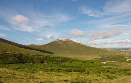 small mountain in the Mourne range known as Hen mountain North Ireland Stock Photo