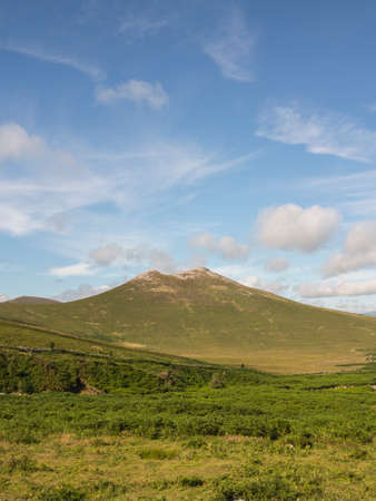 one of the smaller mountains of the Mourne range Ireland Hen mountain