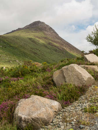 Ben Cromb mountain in the mourne mountain range North Ireland