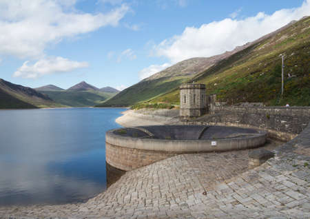 large reservoir in the mourne mountains north Ireland photo