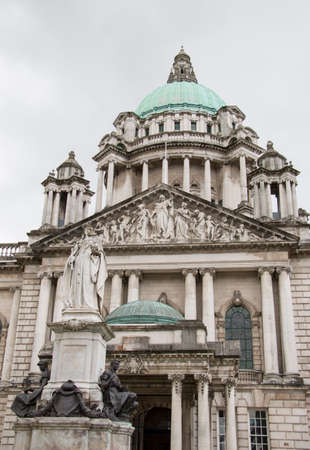 the city hall in belfast Stock Photo