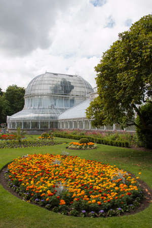 botanical gardens in belfast at summertime Editorial
