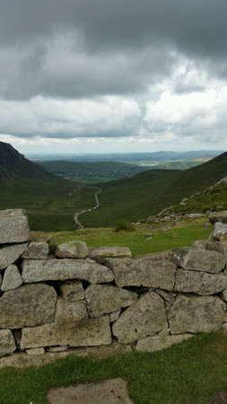The mourne wall ireland