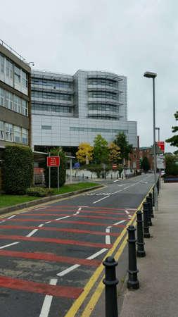 Royal Victoria Hospital Belfast Stock Photo