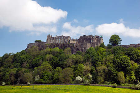 Stirling, Scotland. MAY 25 2017, STIRLING CASTLE -  summer view of the iconic Stirling Castle. Stirlingshire, Scotland, UK Editorial