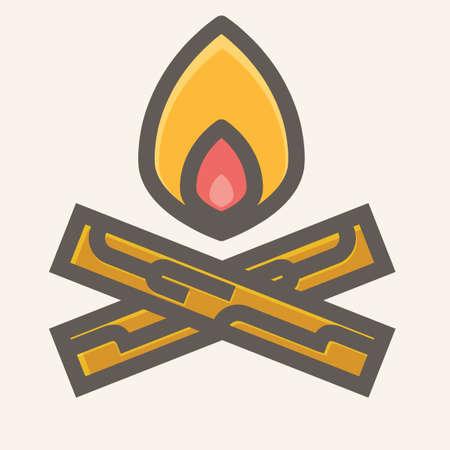 campfire: Campfire Illustration