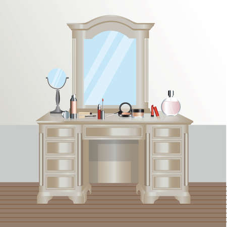 dressing: Dressing table
