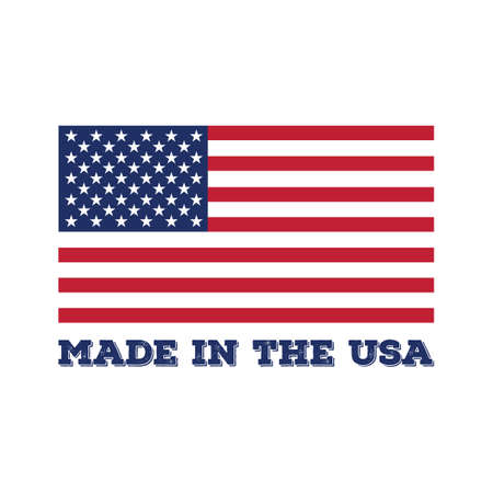 Made in USA label Stock fotó - 43247257