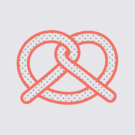 pretzel: Pretzel Illustration
