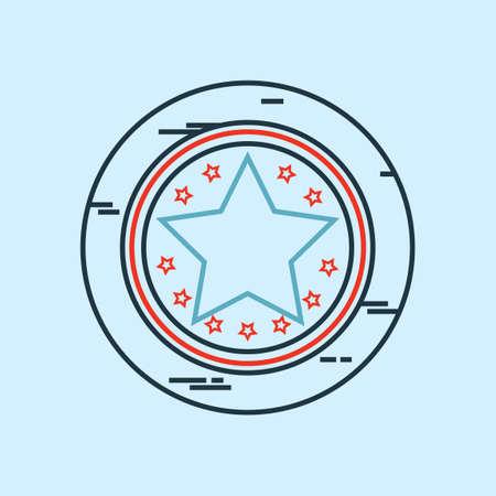 별: Star token 일러스트