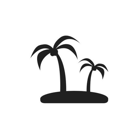 getaways: Coconut trees Illustration