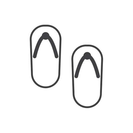 flip flops: Flip flops Illustration