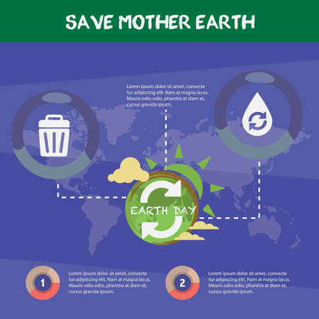 mother earth: Save mother earth infographic