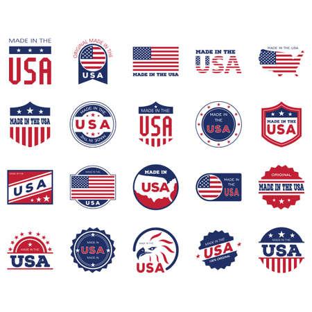 米国のラベル コレクションは、
