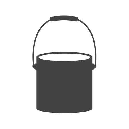 paint tin: Paint bucket