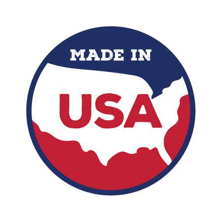 em: Feito nos EUA r�tulo