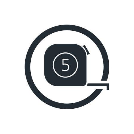 handtool: Tape measure icon