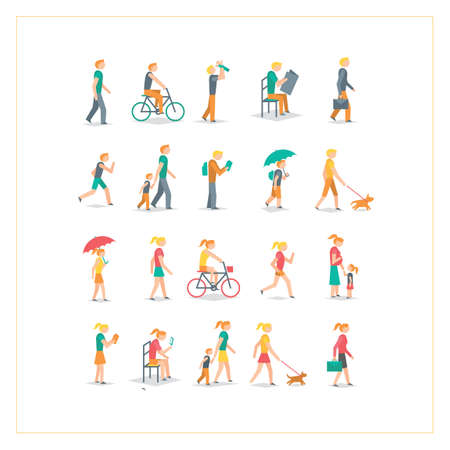 People collection Illustration